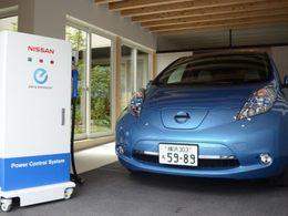 Nissan dévoile un système permettant à la Leaf d'alimenter une maison durant deux jours