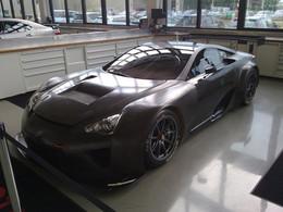 """Une Lexus LFA """"GTE"""" aux 24 Heures du Nürburgring 2013"""