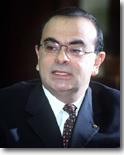 Carlos Ghosn, futur patron de Renault