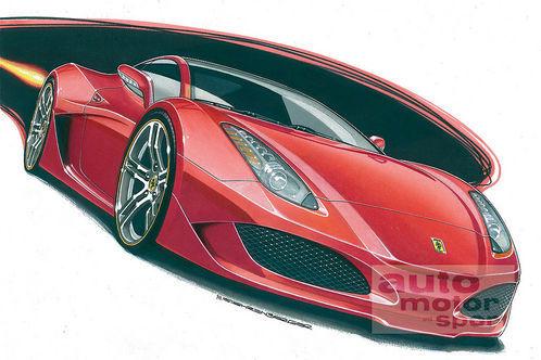 La nouvelle Ferrari du Salon de Francfort 2009: comme ça?