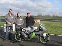 H-KER First :  la première moto électrique de vitesse se dévoile à Carole