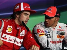 F1 : Hamilton aime Alonso ... et Ferrari