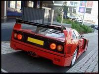 La photo du jour: Ferrari F40 kit Michelotto.