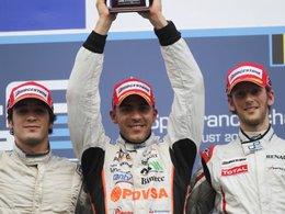 GP2/Spa - DAMS et d'Ambrosio proches de l'exploit, Maldonado engrange