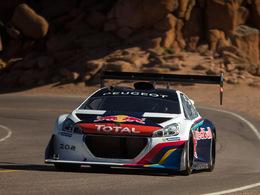 Loeb tenté par un nouveau record à bord de la Peugeot 208 T16 Pikes Peak