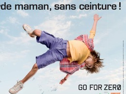"""""""Regarde papa, sans ceinture !"""", la nouvelle campagne de la sécurité routière belge"""