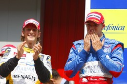 GP2 Barcelone Course 2 : Mortara, rookie et déjà vainqueur. Grosjean second.