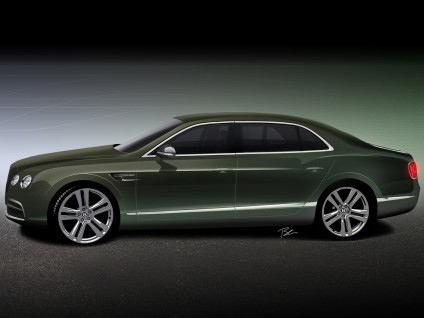 Future Bentley Flying Spur: enfin plus raffinée?