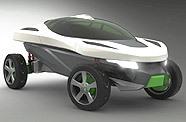 Institut Européen du Design : Buggy beON hybride très design