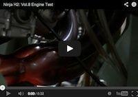 Kawasaki Ninja H2 épisode 8: test moteur (vidéo)