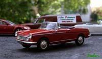 Miniature : 1/43ème - Peugeot 404 cabriolet