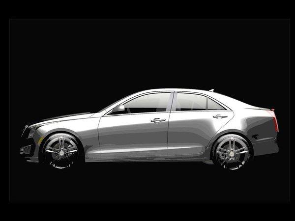 Voici la Cadillac ATS, future rivale des BMW Série 3, Mercedes Classe C et Audi A4