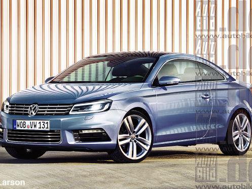Future VW Passat Coupé : pour 2015
