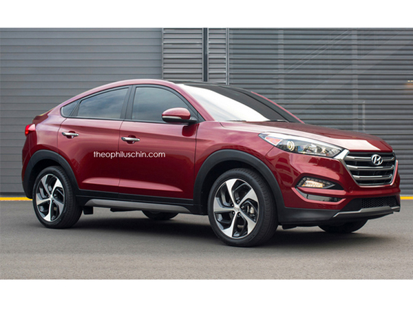 design un graphiste imagine un hyundai tucson coup. Black Bedroom Furniture Sets. Home Design Ideas