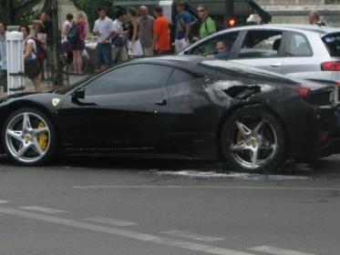 Une campagne de rappel pour la Ferrari 458 Italia ?