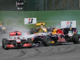 F1 - accrochage Vettel / Button : McLaren n'est vraiment pas content
