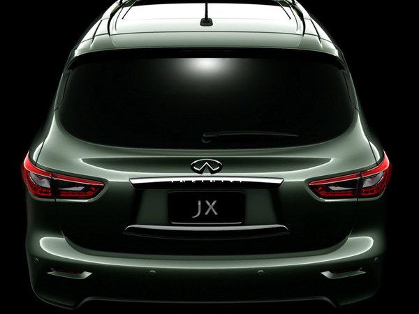 L'Infiniti JX Concept montre son ... dos