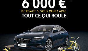 Opel: jusqu'à 6000€ de remise en échange d'un melon!