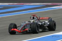 McLaren Mercedes passe en tête au Castellet