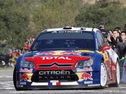 Rallye du Var - Kubica sur une Citroën C4 WRC
