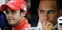 F1: Hamilton et Massa font une croix sur le titre 2009 !