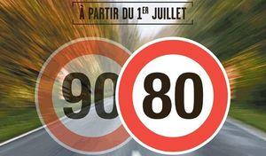80 ou 90km/h: vers un pays à deux vitesses?