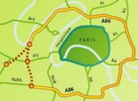 Ouest de Paris : la sortie du tunnel de l'A86 prévue en octobre 2007