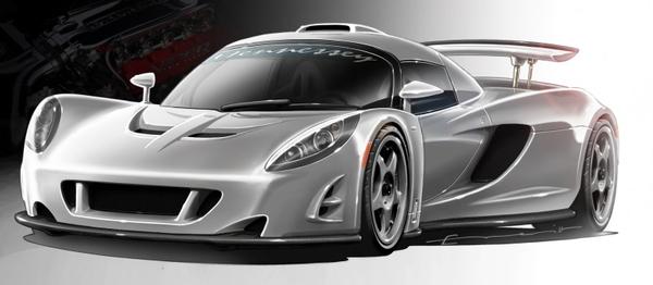 Hennessey Venom GT en clair: l'autre navette spatiale US !!