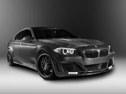 BMW Serie 5 par Lumma : la M5 sera sans doute bien plus discrète