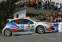 Stéphane Sarrazin: une pige en rallye sur 207 Super 2000
