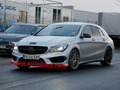 Surprise : la future Mercedes CLA 45 AMG Shooting Brake en balade
