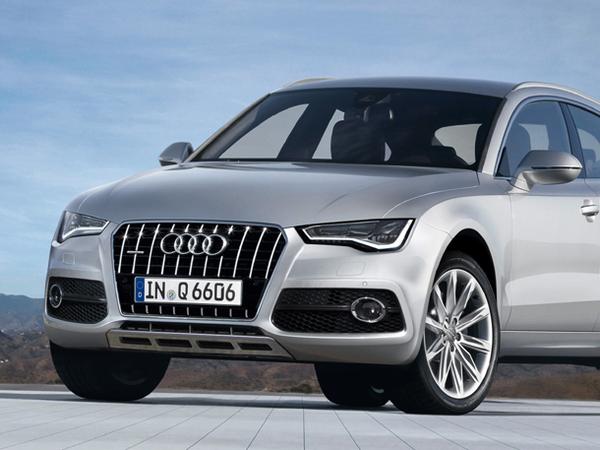 Futur Audi Q6: comme ça?
