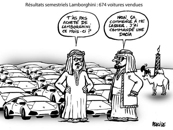Le dessin du jour - Taureaux de combat en baisse de régime Volkswagen Arteon