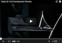 Vidéo, Kawasaki Ninja H2 volume 9: entre carbone et aérodynamisme