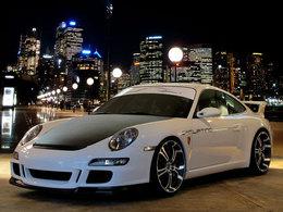 Barracuda Tzunamee : des jantes au look chargé pour la Porsche 911 GT3