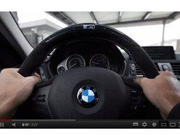 Accessoire: le volant M Performance de BMW