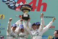 Une Porsche remporte les 24 Heures du Nürburgring