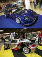 Ford GT et Porsche Carrera GT: prêtes à courir!