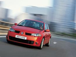 La p'tite sportive du lundi: Renault Mégane RS.