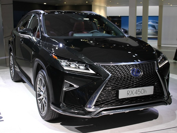 lexus rx450h predator hybride vid o en direct du salon de francfort 2015. Black Bedroom Furniture Sets. Home Design Ideas