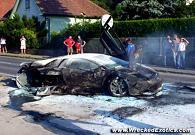 Une Lamborghini Murcielago LP640 complètement détruite !