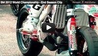 Supermotard, championnat du monde 2012: la dernière partie de la saison en vidéo