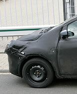 La Future Ford Ka toujours bien camouflée...