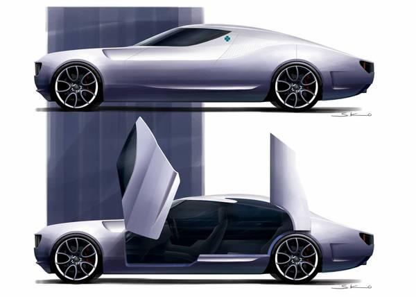Alfa Romeo Berlina Da Corsa Concept: originale