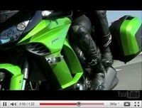 Première vidéo de la Kawasaki Z1000 SX 2011