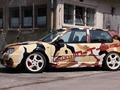 VW Golf 4 R32 biturbo M-T-E , une balle de 785 chevaux !