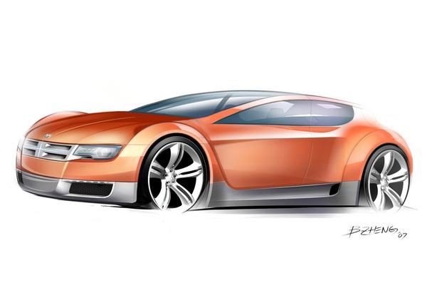 Salon de Détroit 2008 : Dodge Zeo Concept