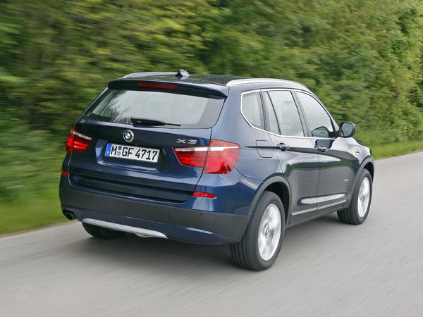 Deux nouveaux moteurs pour le BMW X3