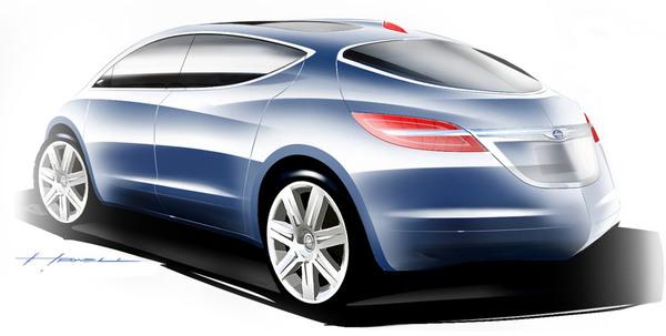 Salon de Détroit 2008 : Chrysler ecoVoyager Concept