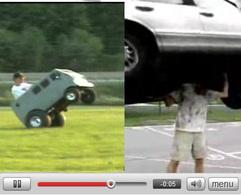 2 vidéos stupides qui pourraient faire (sou)rire